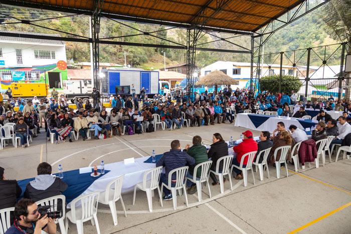 Por iniciativa del Presidente del Concejo de Bogotá, Daniel Palacios, la Corporación realizó por primera vez una sesión Plenaria en la localidad de Sumapaz.
