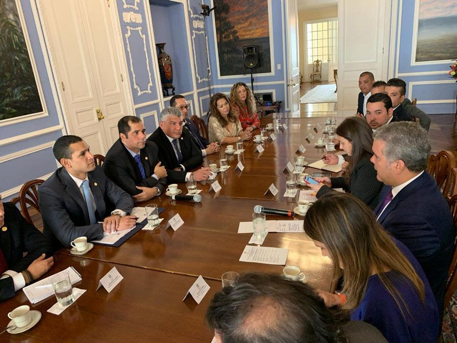 Reunión Asociación Concejos Ciudades Capitales con el Presidente, Iván Duque.